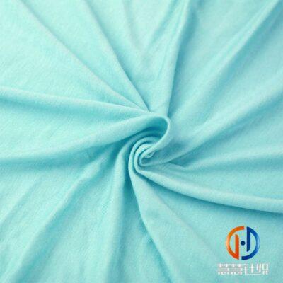 30s人棉气流纺氨纶汗布