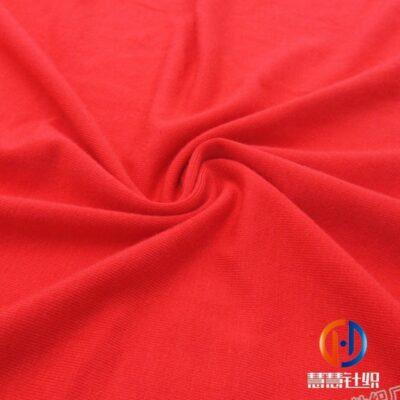 30s人棉环锭纺氨纶汗布